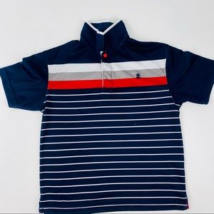 IZOD Kids Boys Polo T-Shirt Size 10 Short Sleeves